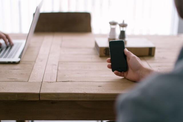 携帯電話の電源を切る
