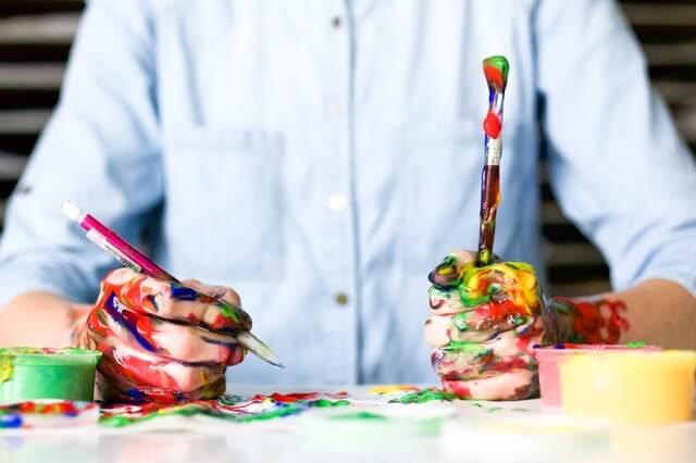 感受性が豊かな人 芸術の才能がある