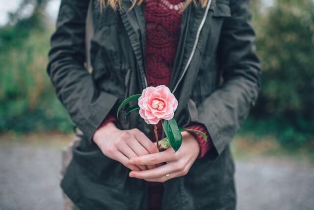 優しいバラの香り