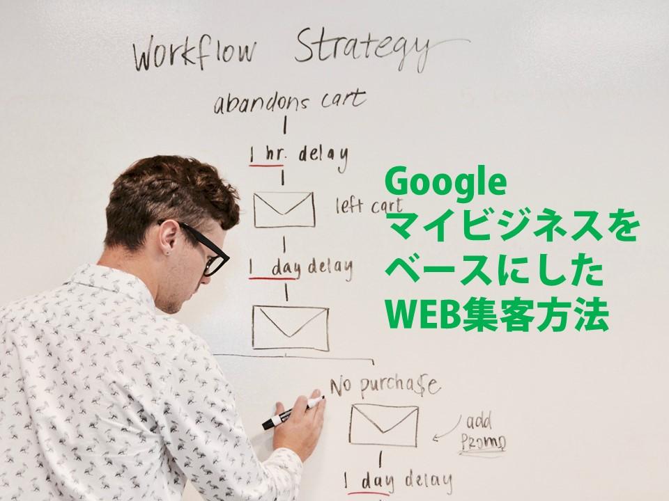 GoogleマイビジネスをベースにしたWEB集客方法